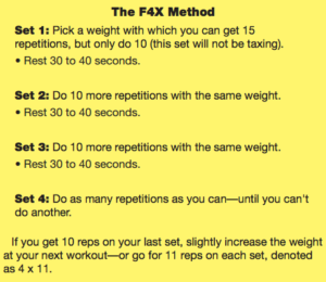 Example workout old school new body
